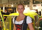 In Dirndl op Facilitair